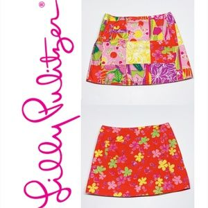 Lilly Pulitzer Reversible Mini Skirt
